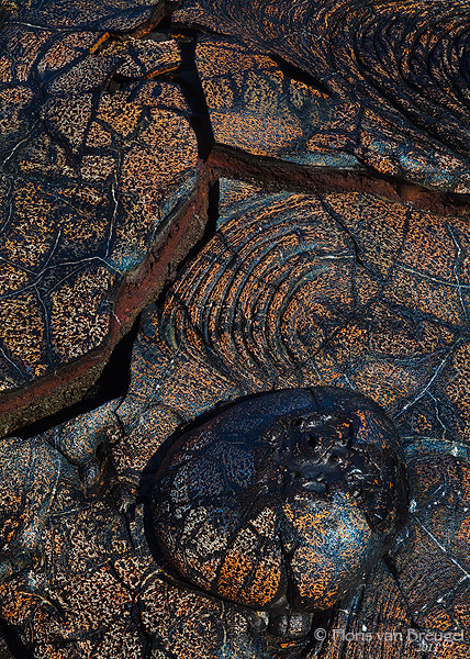 Pahoehoe Lava, Volcanoes National Park, Hawaii, big island, photo