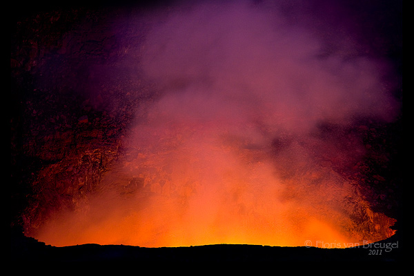 Halema'uma'u Lava Lake, Volcanoes National Park, Hawaii, 2011, Kilauea, photo
