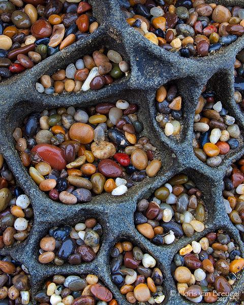 Pebbles in Tafoni, Santa Cruz