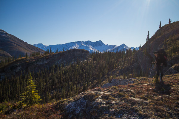 Hiking in the Arrigetch Peaks, Gates of the Arctic, Alaska, photo