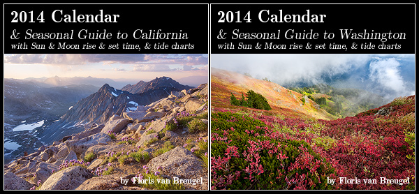 2014 Art in Nature Calendars