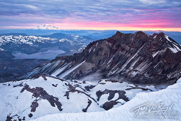 Mt St Helens, Sunrise View, Washington
