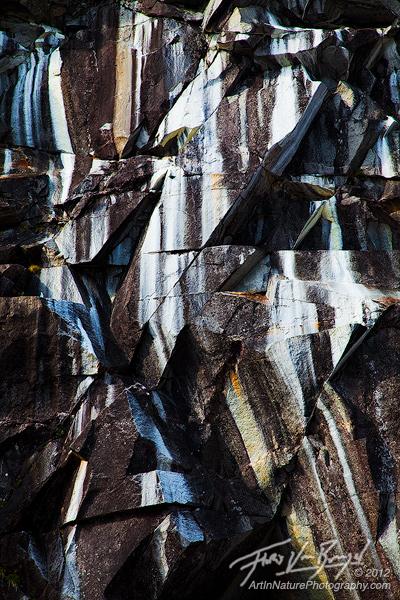 Alpine Picasso, Cascades, Washington, photo
