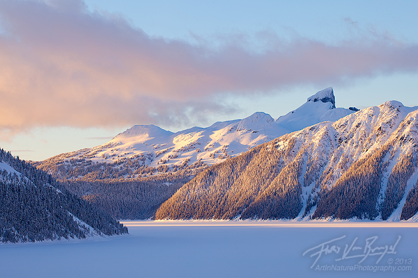 Black Tusk Winter, Garibaldi Provincial Park, British Columbia