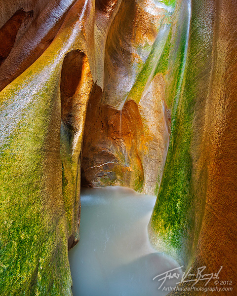 Boundary Canyon in Zion National Park, Slot Canyons, Southwest, photo