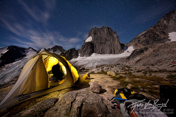 Applebee Dome Camp, Bugaboos, British Columbia