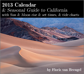 2013 Art in Nature Calendar California edition