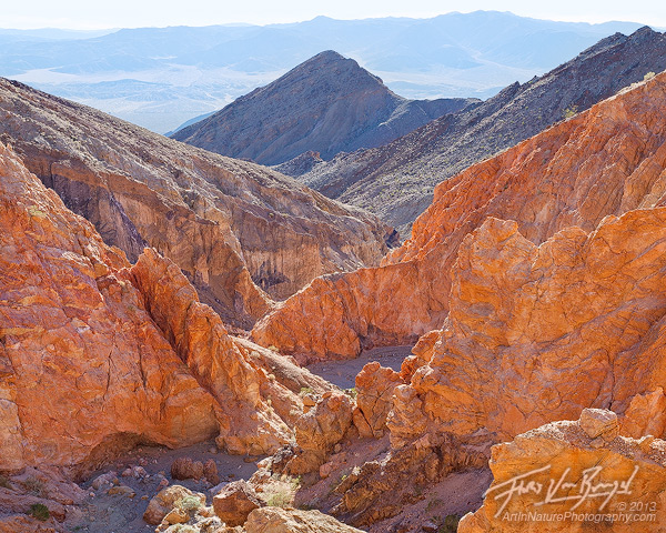 Brilliant Colors, Canyon, Death Valley National Park