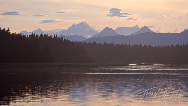 Fairweather Range, Glacier Bay, Alaska