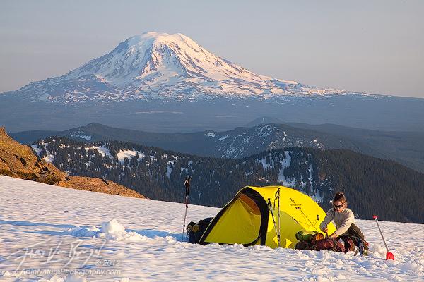 Goat Rocks Tent Camping, Washington, Pacific Northwest