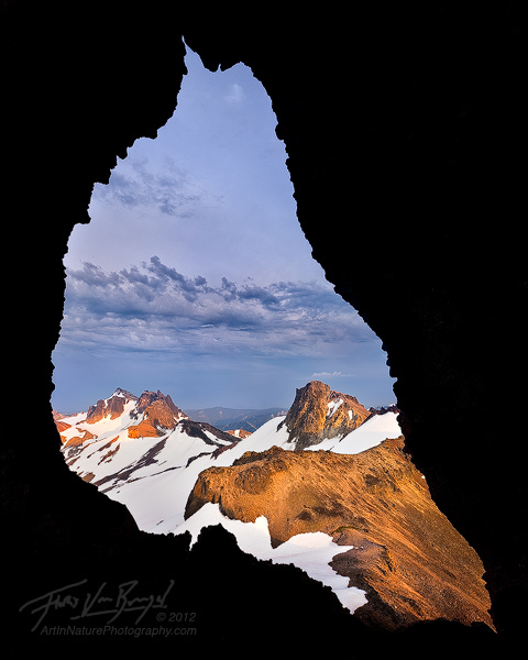 Goat Rocks Wilderness, Ives Peak and Gilbert Peak, Washington, photo