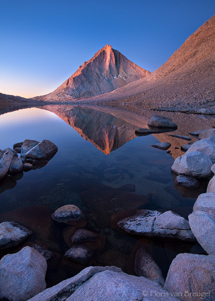 Royce Lakes in John Muir Wilderness, Sierra Nevada, California, sierra diamond, merriam peak, photo