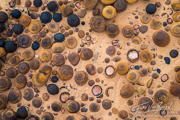 Moqui Marbles, Escalante, Utah