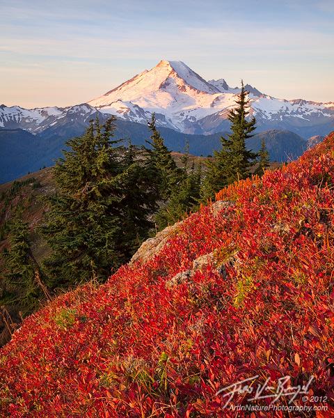 Autumn Mount Baker, North Cascades, Washington