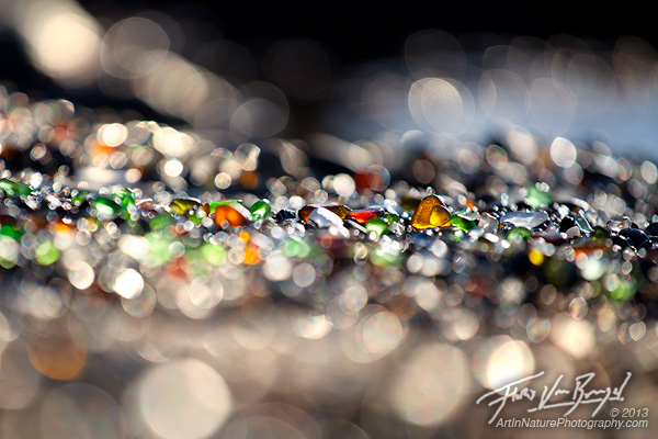 Sea Glass, Glass Beach near Fort Bragg, California, photo