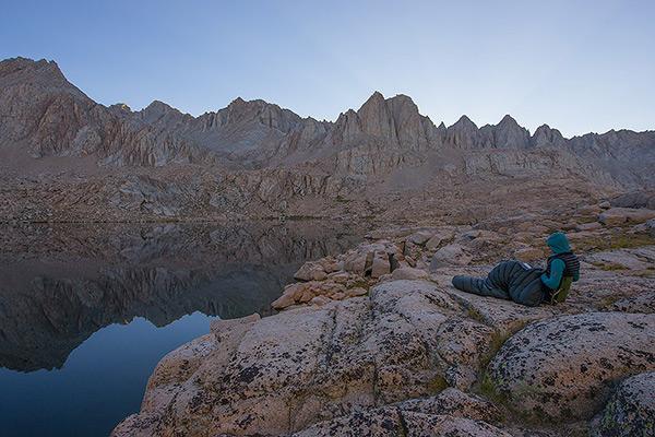 Sky Blue Lake, Sierra, California, photo