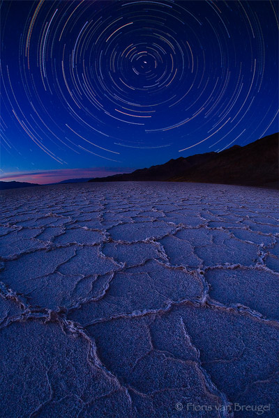 Death Valley Star Trails Badwater Star Trails Death