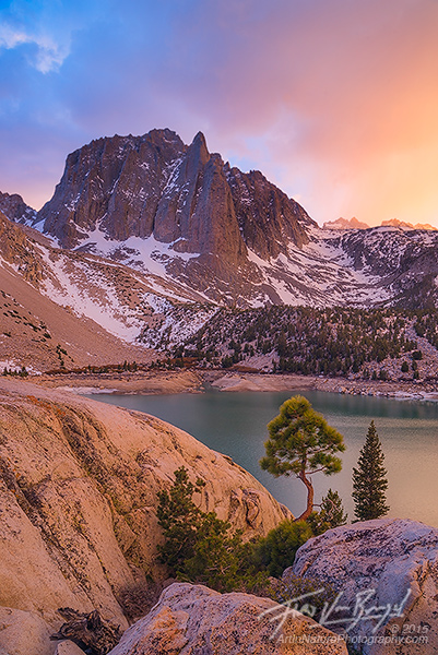 Temple Crag, Big Pine Lakes, Sierra Nevada