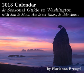 2013 Art in Nature Calendar Washington edition