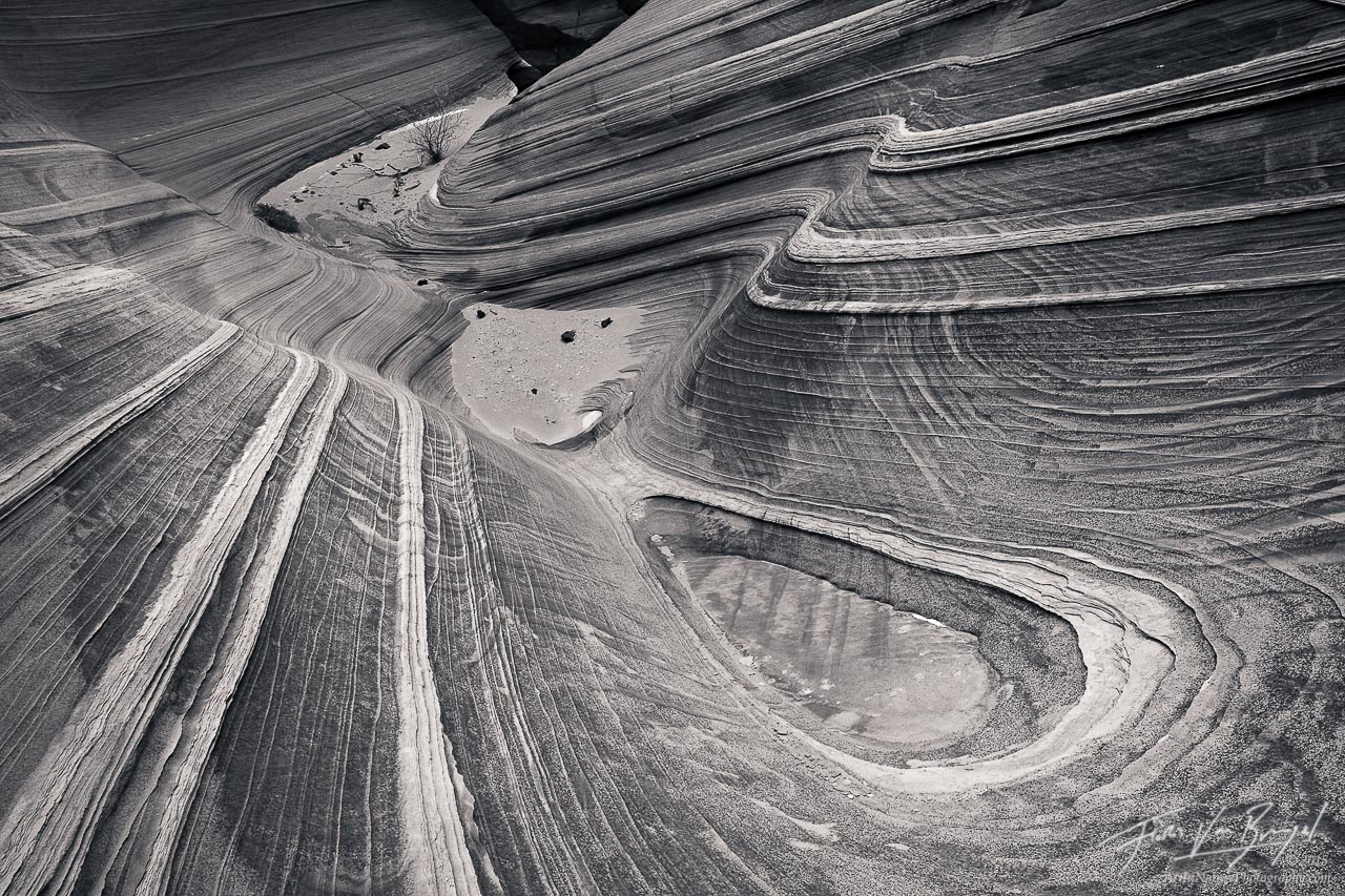 Water Worn Sandstone, Vermilion Cliffs, Arizona, triple-finity, southwest, photo
