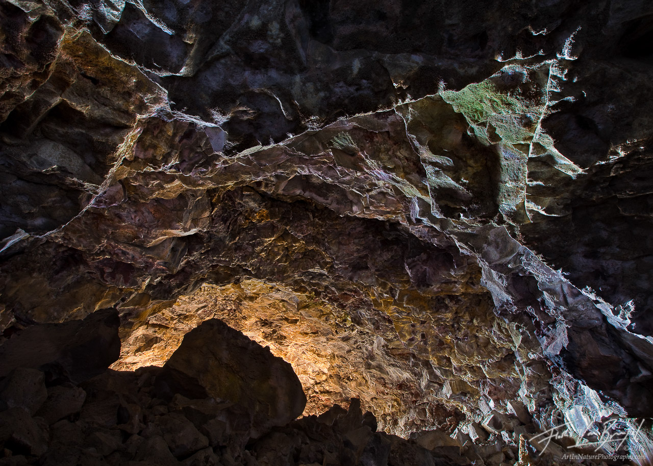 Lava Tube Cave, Lava Beds National Monument, California, purgatory, photo