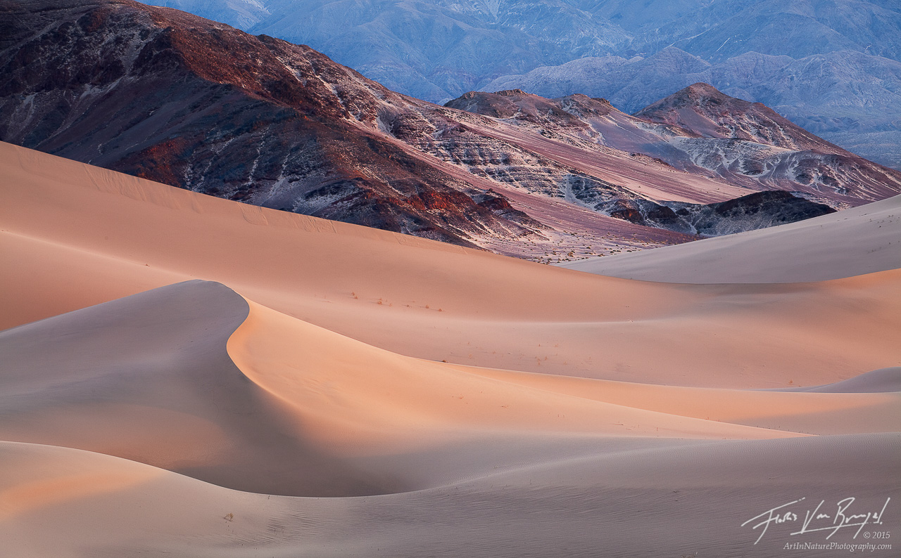 Sand Dunes, Death Valley National Park, California, sandscape, sensual, photo