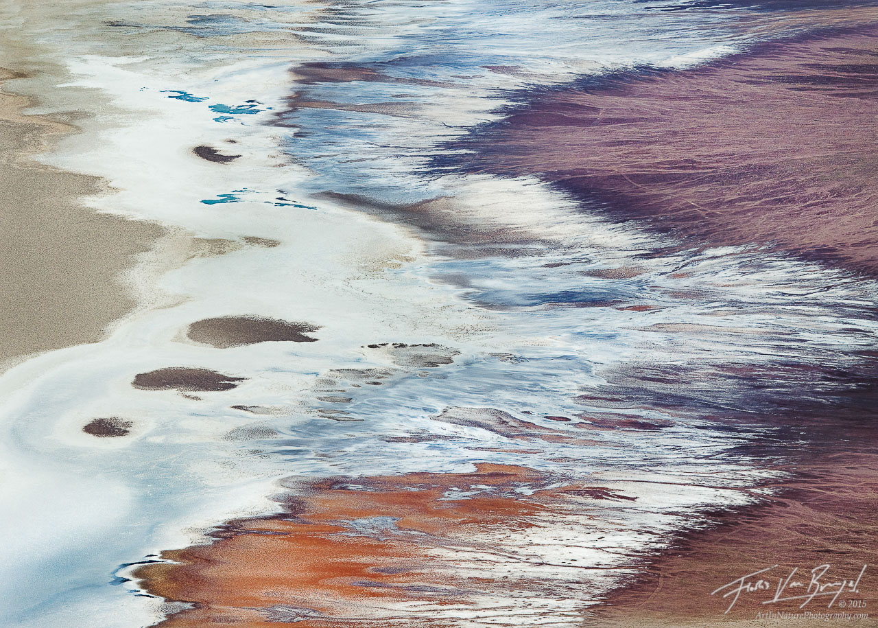Dante's View Abstract, Death Valley National Park, California, dante's ocean, salt, lake manly, badwater, photo