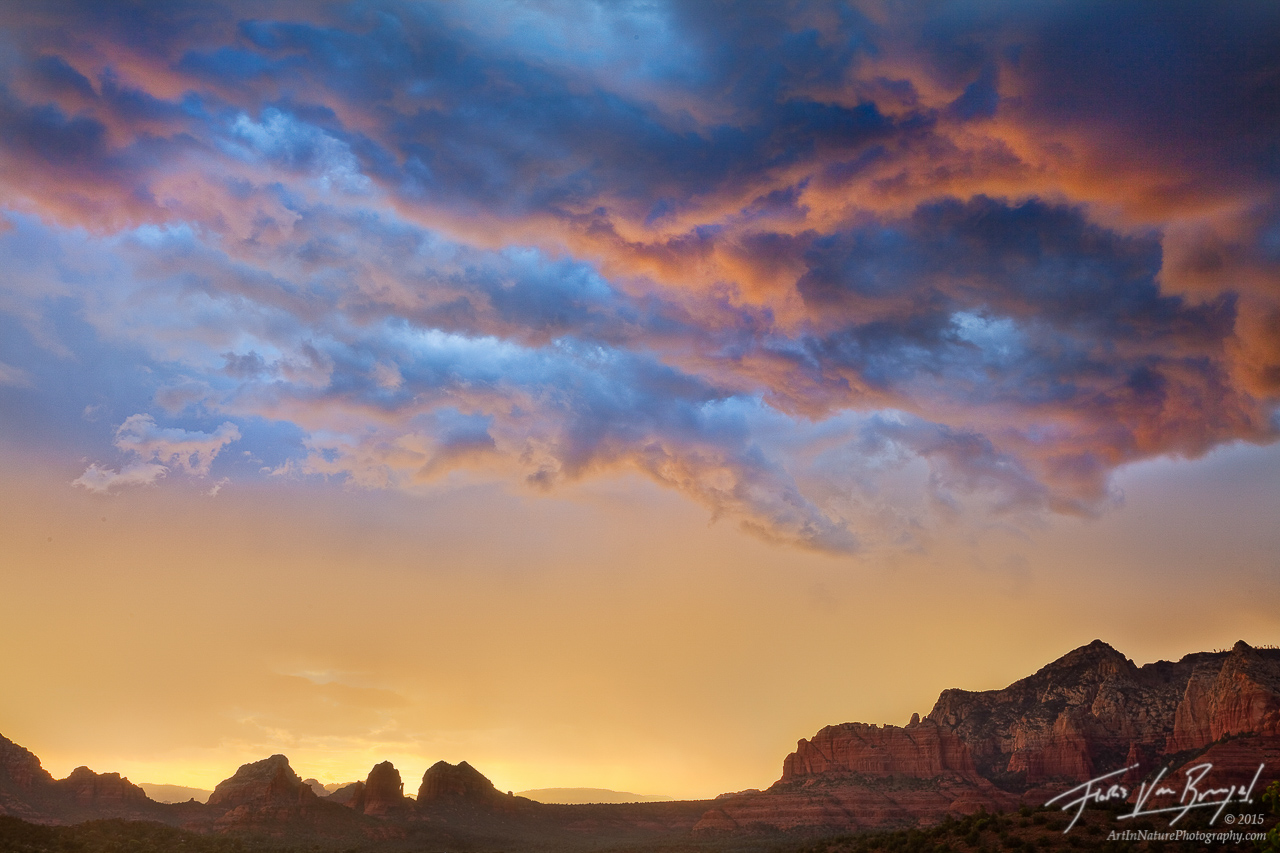 Sedona Monsoon, Sedona, Arizona, storm, clouds, , photo