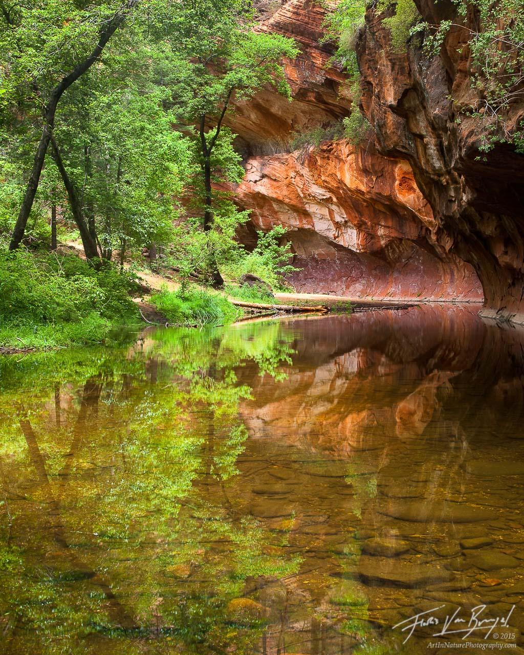 Oak Creek, Sedona, Arizona, Sedona Fairyland, west fork, photo