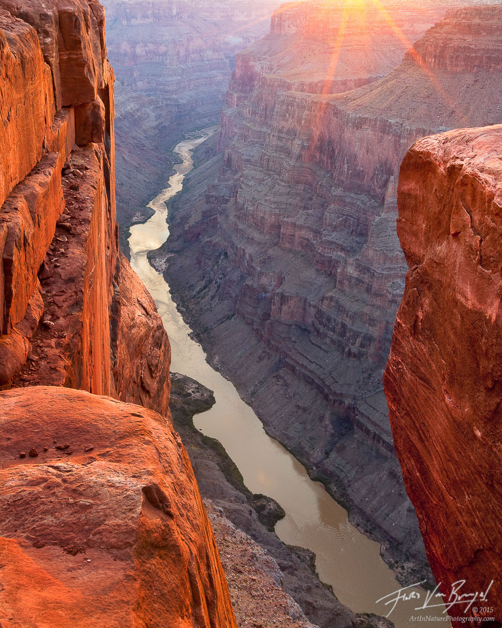 Toroweap at Sunrise, Grand Canyon National Park, Arizona, Tuweep, North Rim, photo