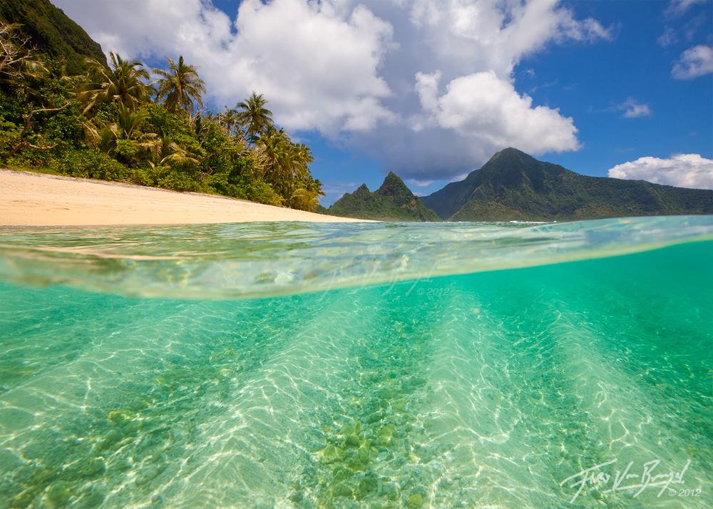 National Park Beach, Ofu, American Samoa, photo