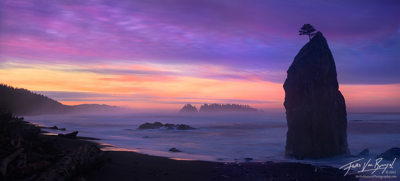 Rialto Beach, Olympic National Park, Washington, photo