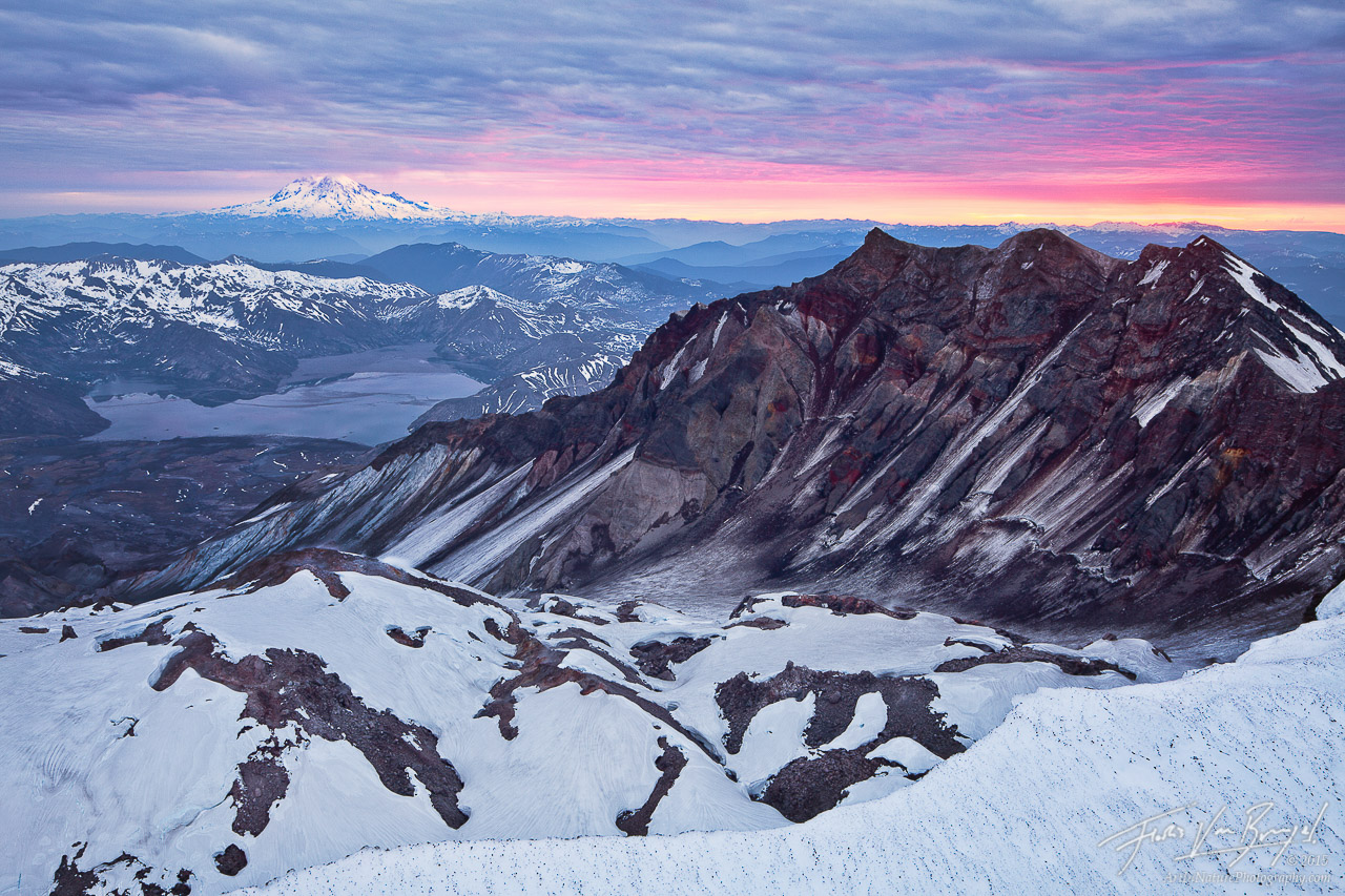 Mt St Helens, Sunrise View, Washington, photo