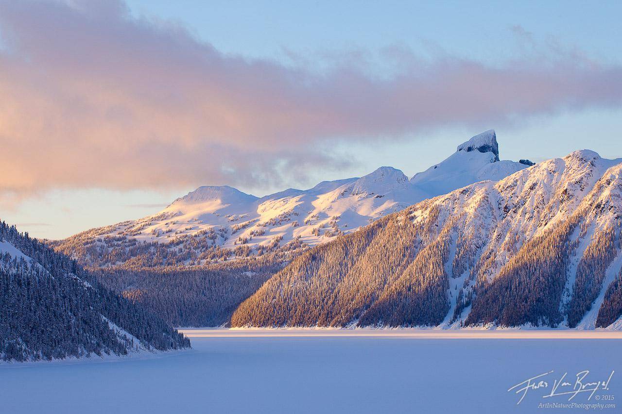 Black Tusk Winter, Garibaldi Provincial Park, British Columbia, photo