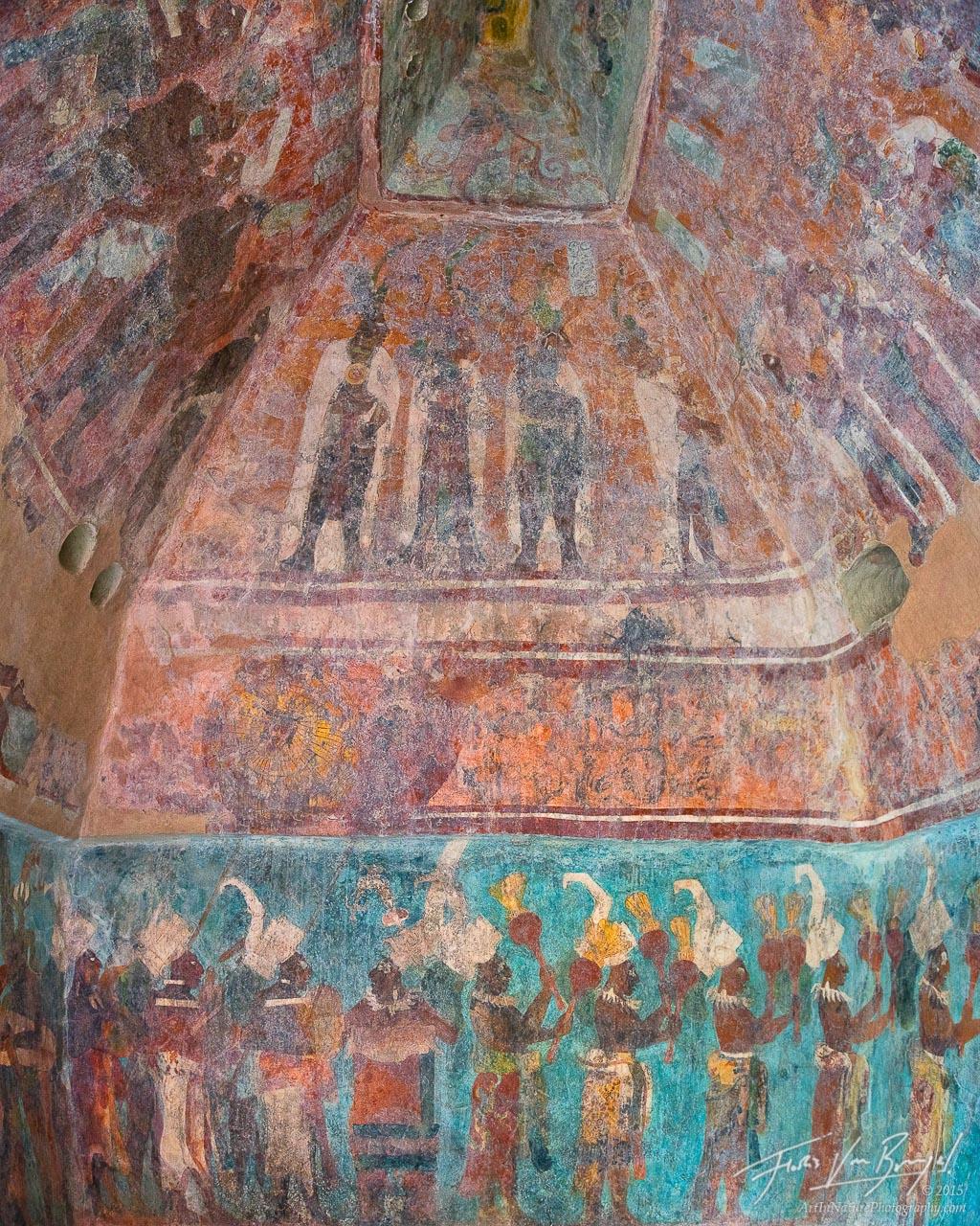 Bonampak Murals, Maya Ruins, Chiapas, photo