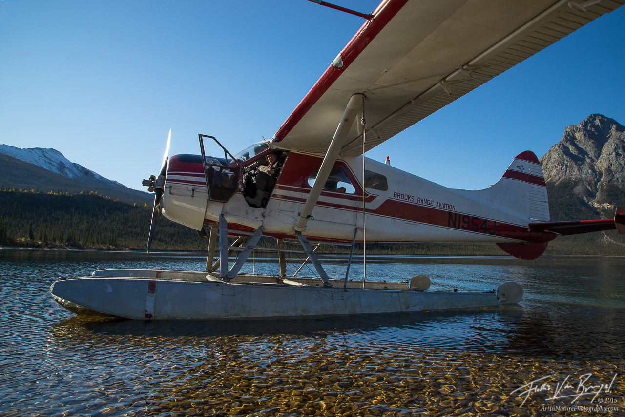 Float Plane, Brooks Range Aviation, Alaska, photo