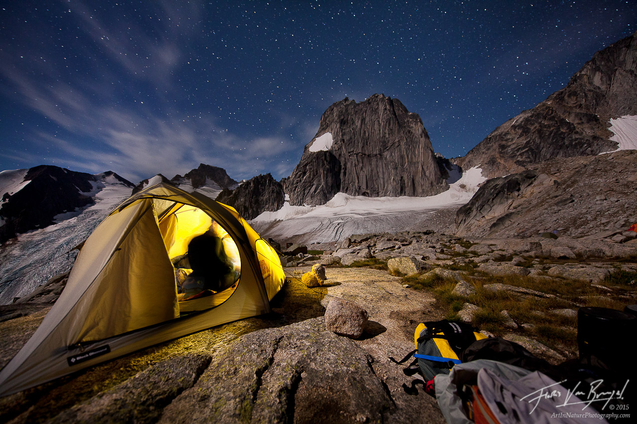 Applebee Dome Camp, Bugaboos, British Columbia, photo