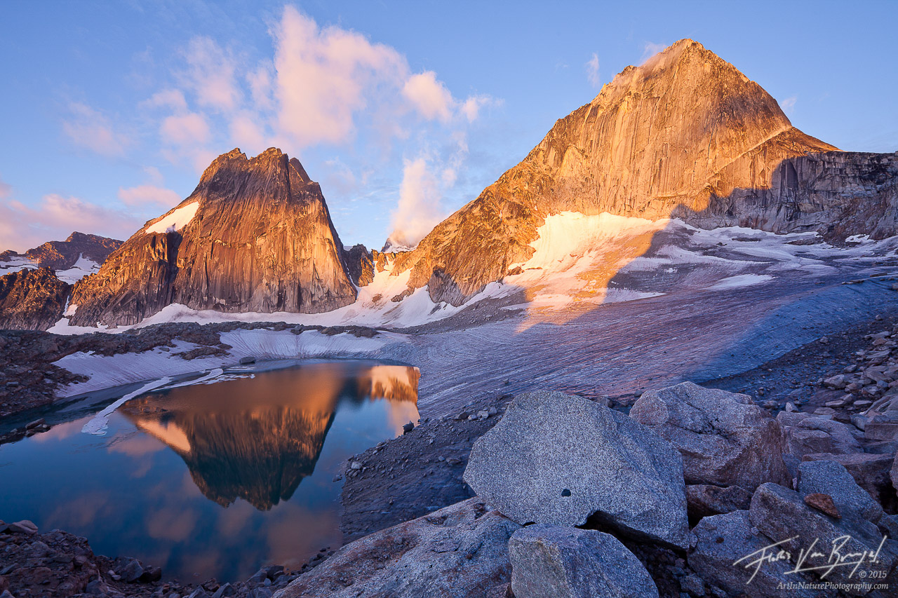 Bugaboo Provincial Park, Snowpatch and Bugaboo Spires, British Columbia, photo
