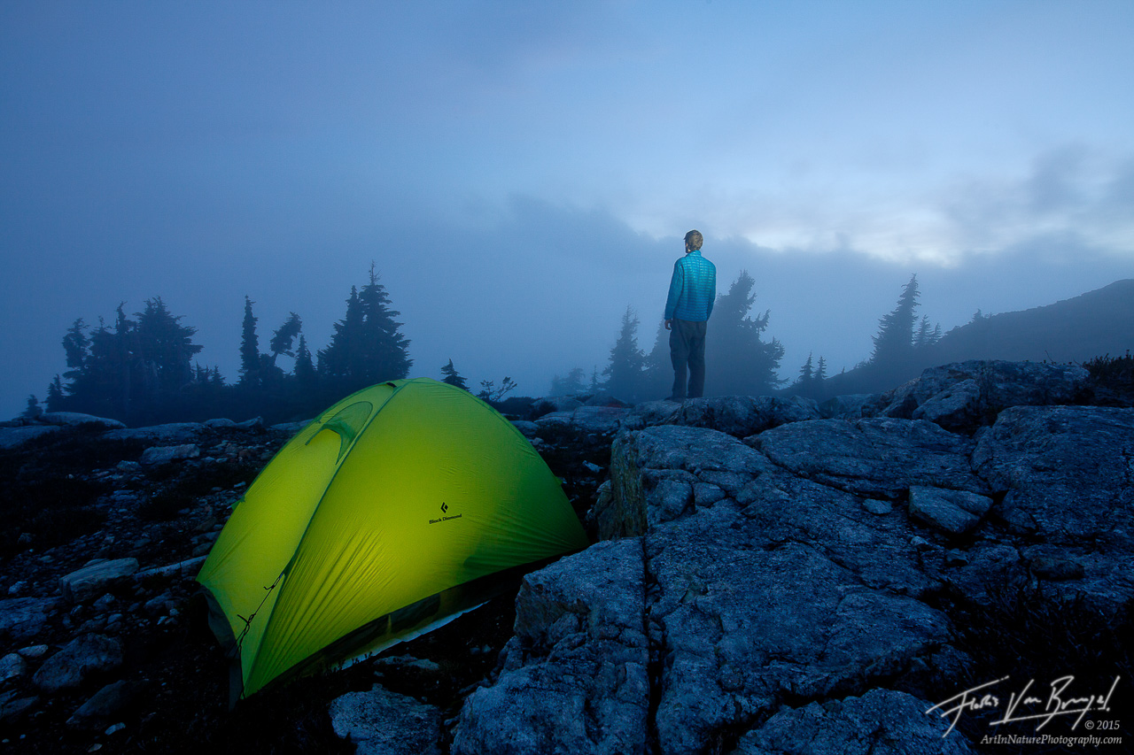 North Cascades National Park, Tent Camping, Clouds, photo