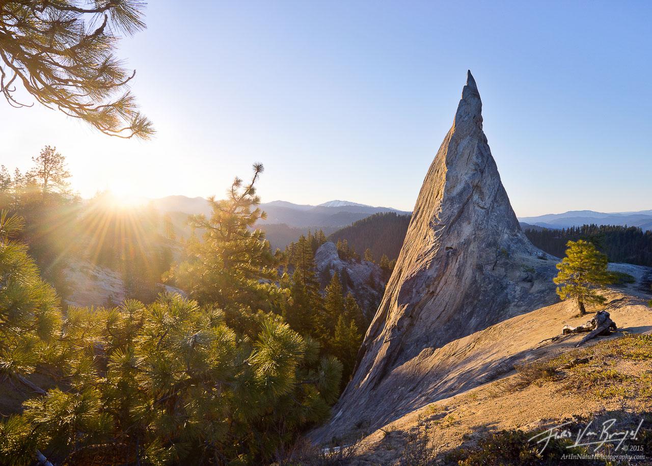 Rocky Spire, Cascades, Washington, photo