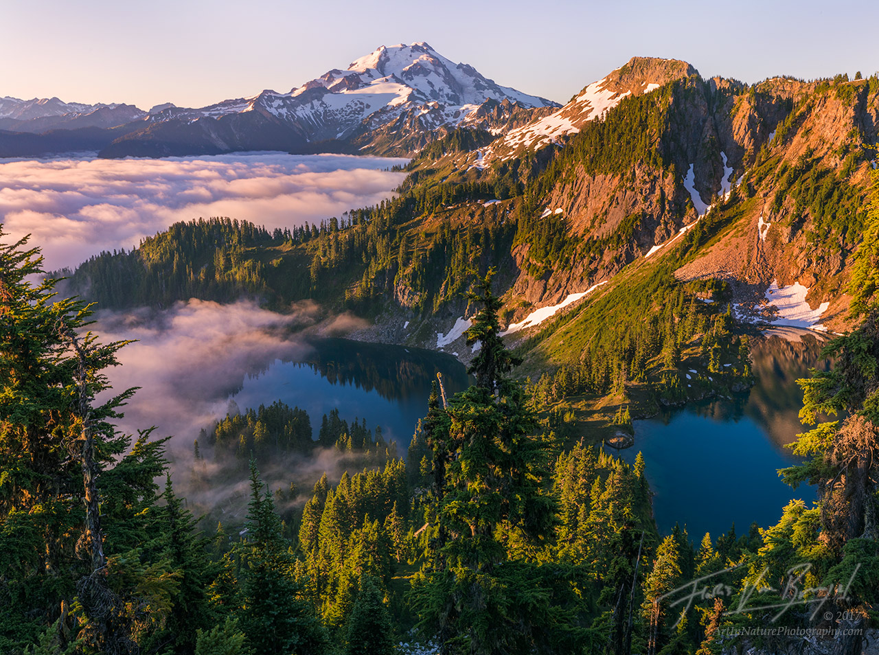 Alpine Lakes, Cascades, Mountains, photo