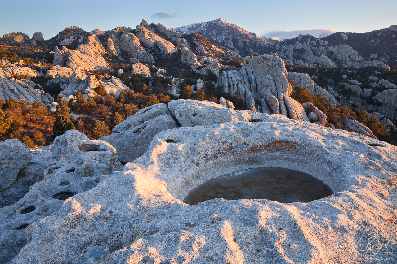 Silent City of Rocks, Granite Boulders, Idaho, photo