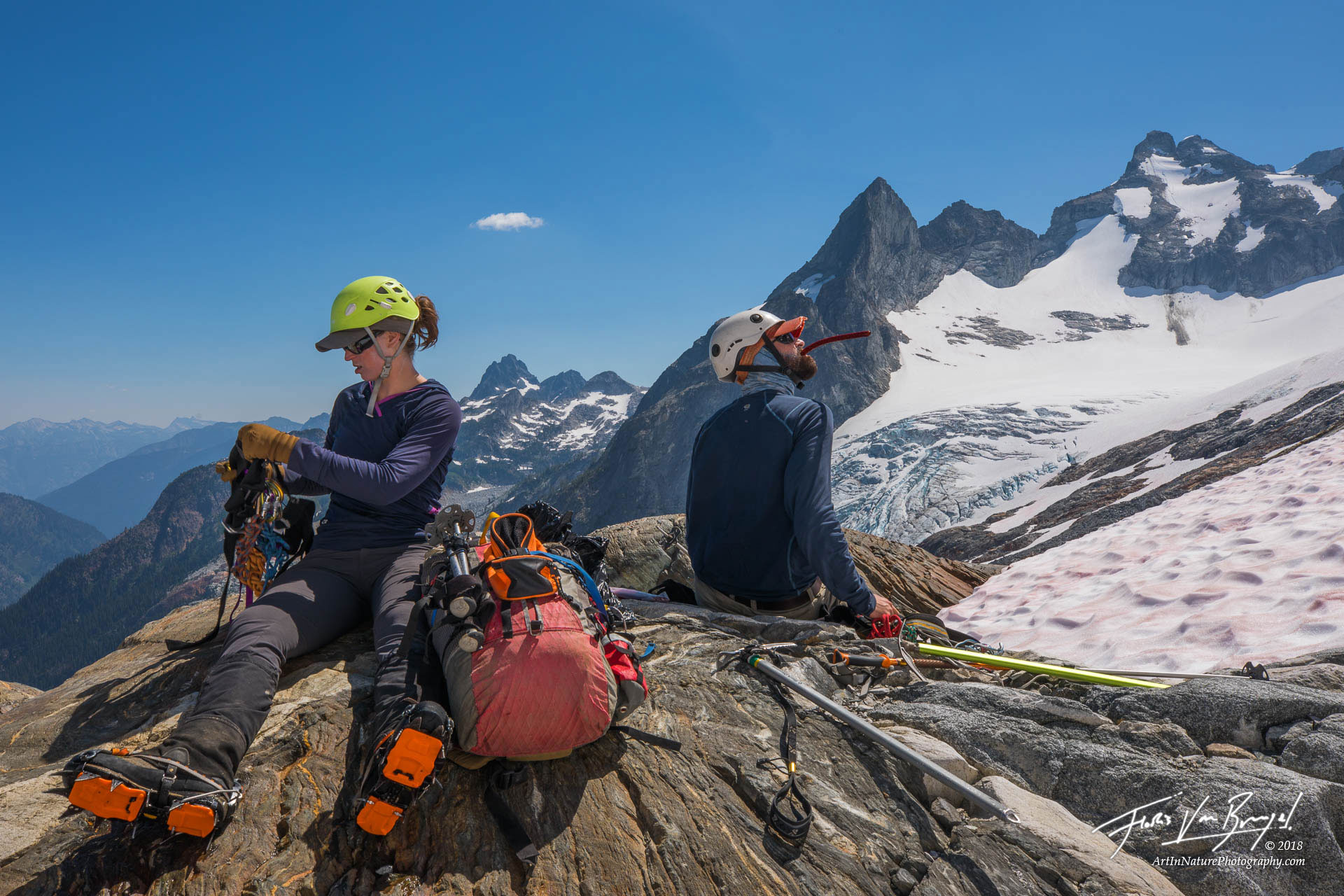 Ptarmigan Traverse, Cascades, Northwest, photo