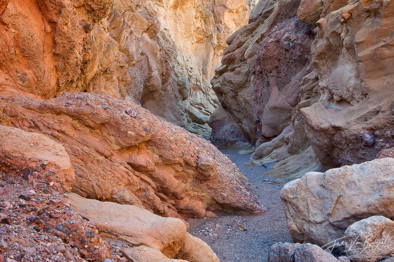 Beautiful Slot Canyon, Death Valley National Park, California, photo