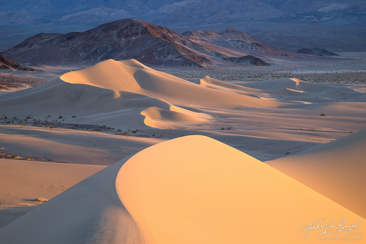 Sunset Dunes, Death Valley National Park, California, photo