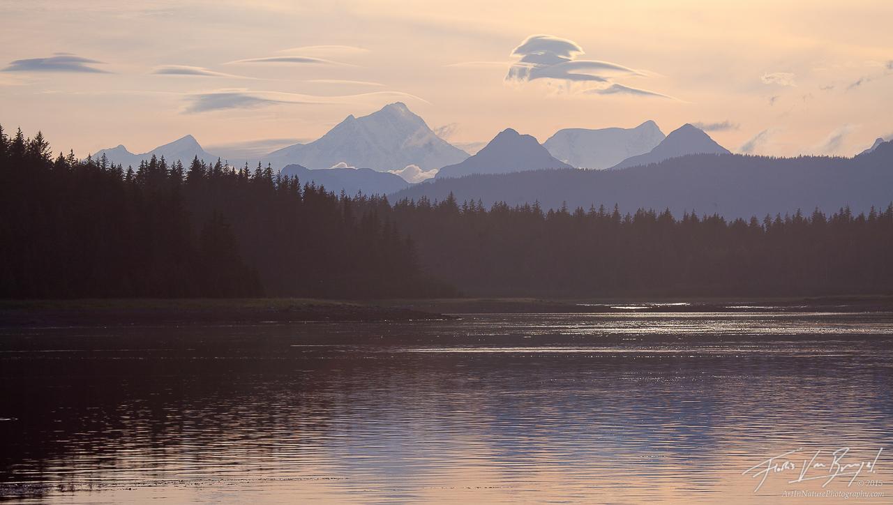 Fairweather Range, Glacier Bay, Alaska, photo