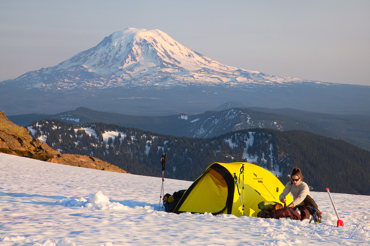 Goat Rocks Tent Camping, Washington, Pacific Northwest, photo