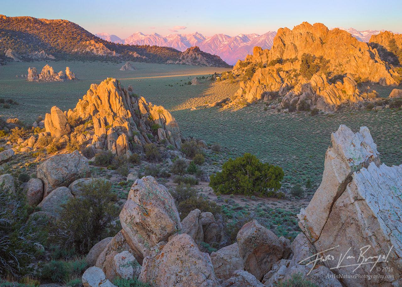 Inyo Mountains, Sierra, Valley, photo