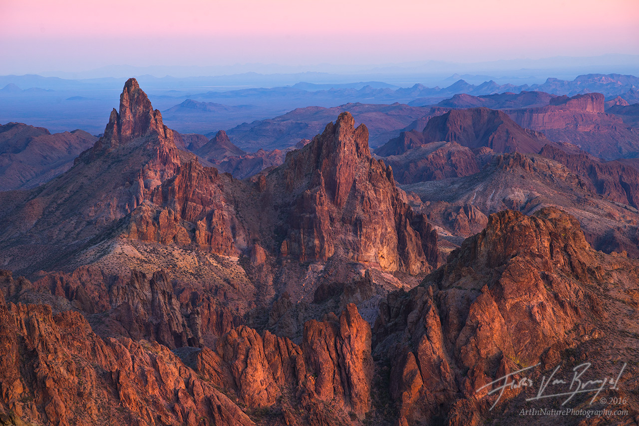Rugged Mountains, Kofa, Arizona, photo