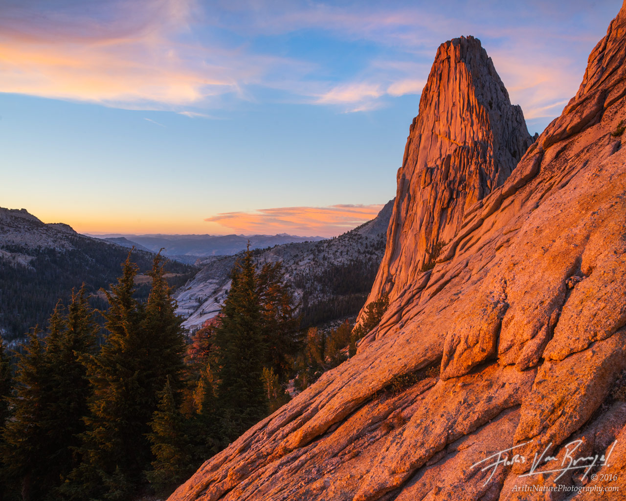 Mattes Crest, Yosemite National Park, California, photo
